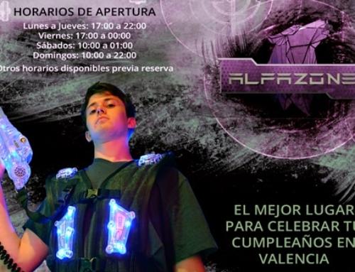 Cumpleaños para adolescentes en Valencia