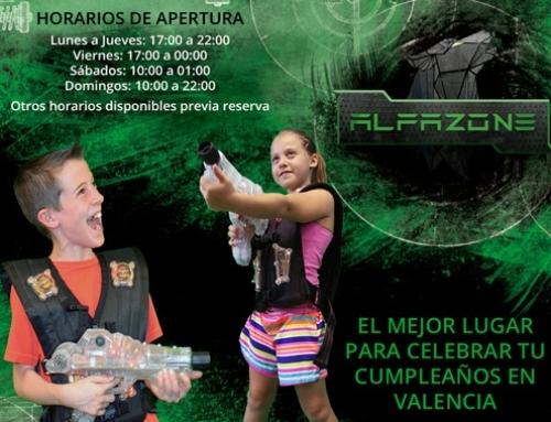 Celebrar un cumpleaños en Valencia para niños